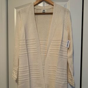 NWT Old Navy open front sweater